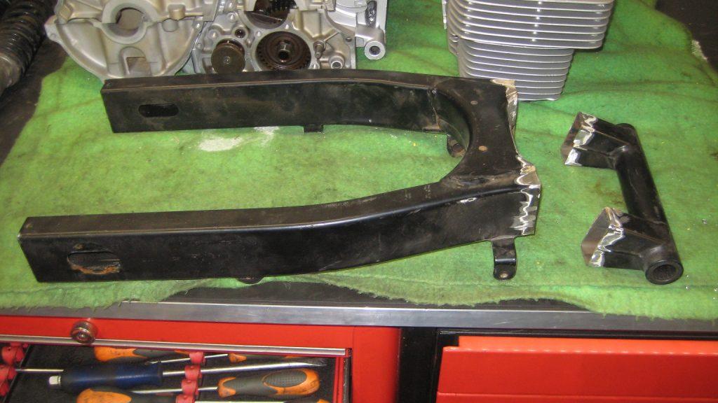 frame HONDA CB 750 K7 uit 1979