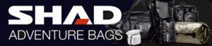 SHAD motorbagage, motorcycle luggage