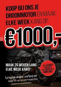 maak elke week kans op € 1.000,-